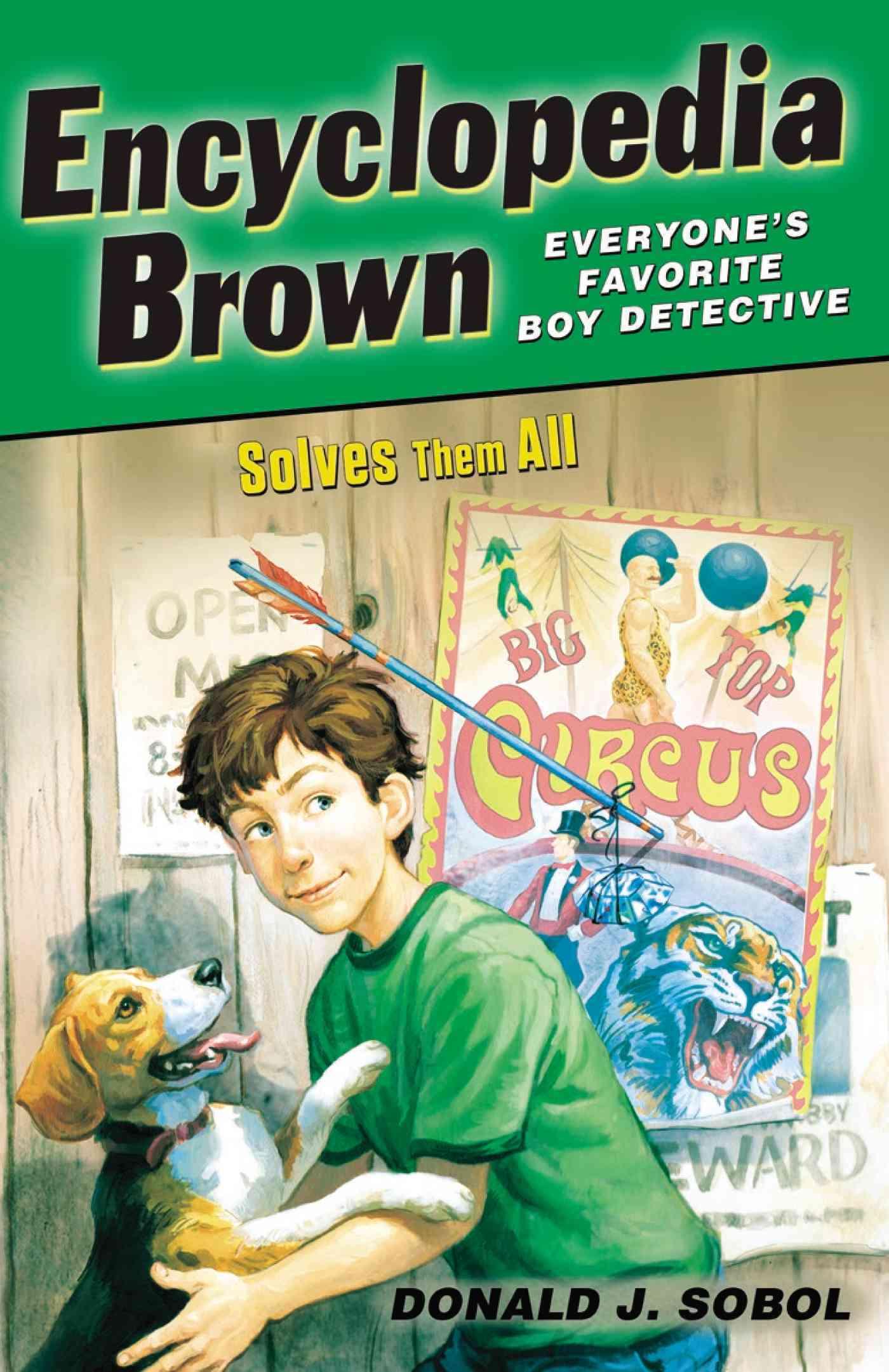Encyclopedia Brown Solves Them All By Sobol, Donald J./ Shortall, Leonard (ILT)